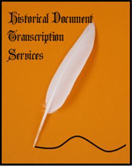 Historical Document Transcription Services
